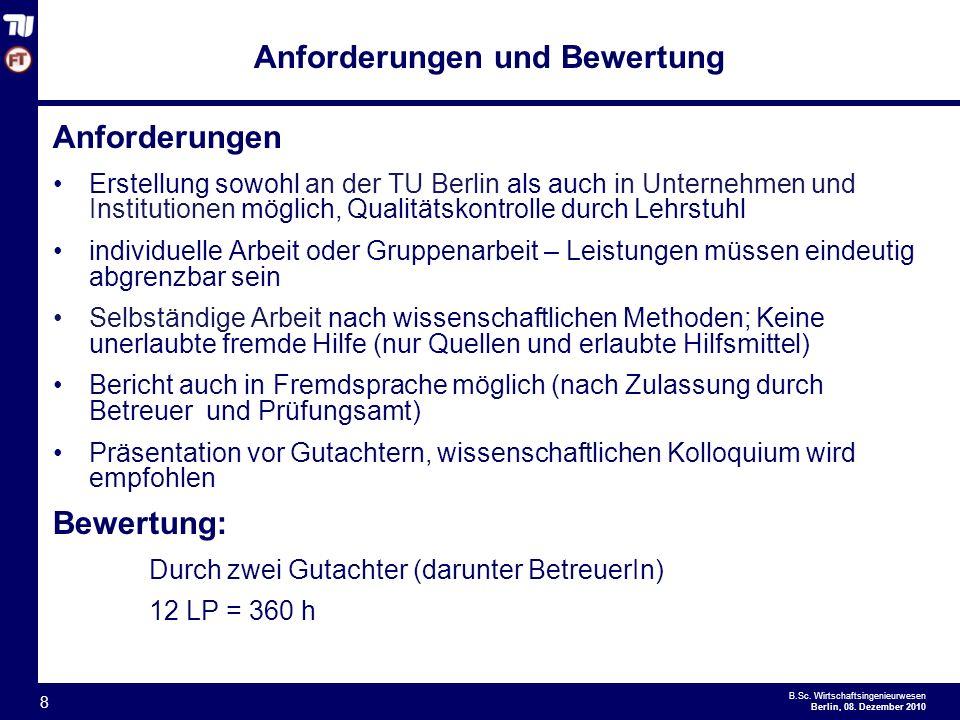 - 8 - B.Sc.Wirtschaftsingenieurwesen Berlin, 08.