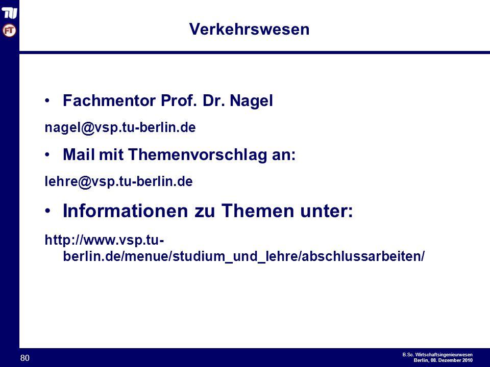 - 80 - B.Sc.Wirtschaftsingenieurwesen Berlin, 08.
