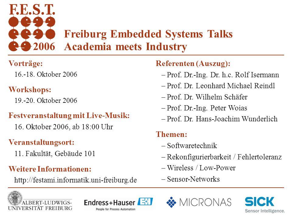 3 Albert-Ludwigs-Universität Freiburg Rechnernetze und Telematik Prof.