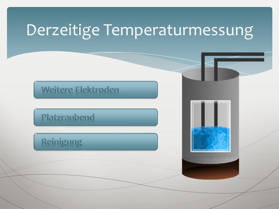 Derzeitige Temperaturmessung