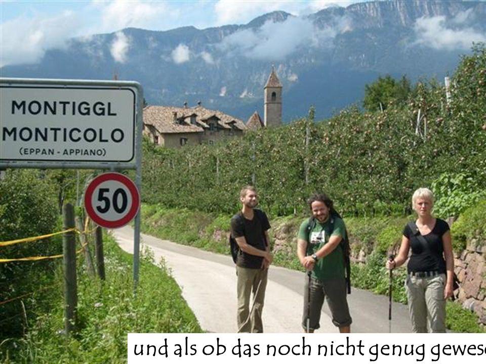 ...noch ein kleiner Besuch bei Reinhold Messner in Sigmundskron. Leider war der Mann nicht zu Hause