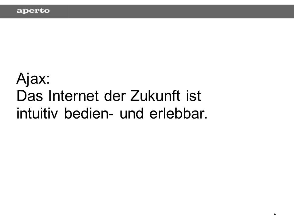 25 Die Gegner Accessibility > > bekannt als > > Das Gute > > Der Ur-Gedanke des World Wide Webs