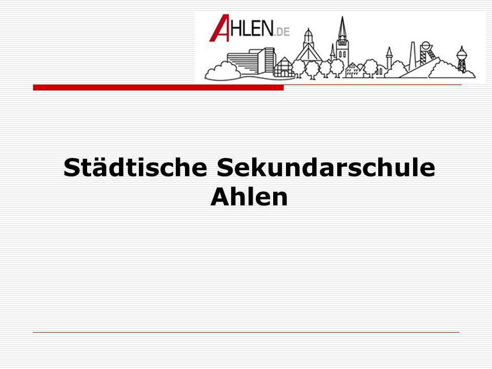 Städtische Sekundarschule Ahlen