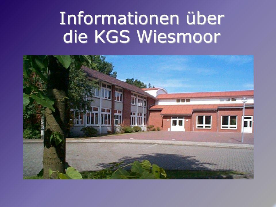 Informationen über die KGS Wiesmoor