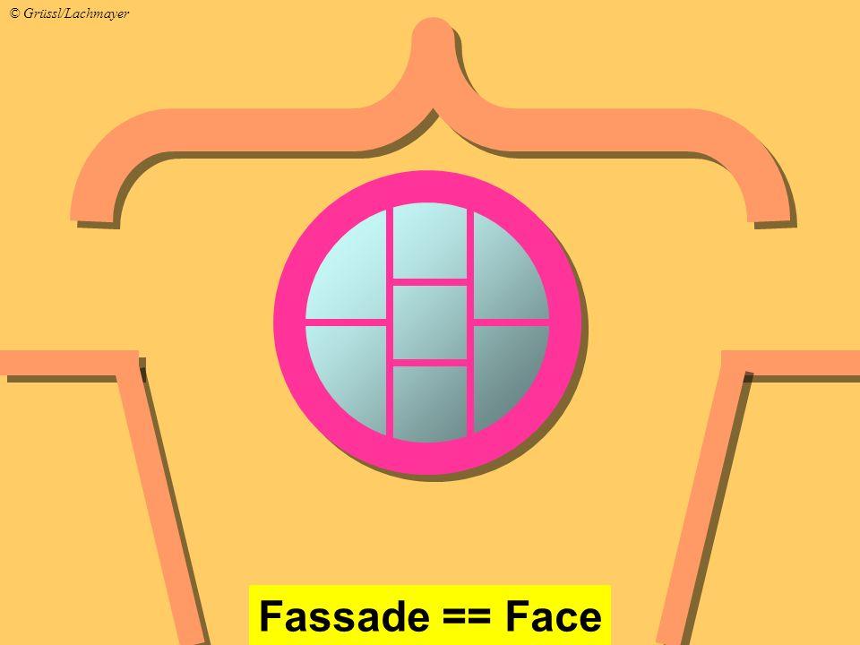 Fassade == Face © Grüssl/Lachmayer