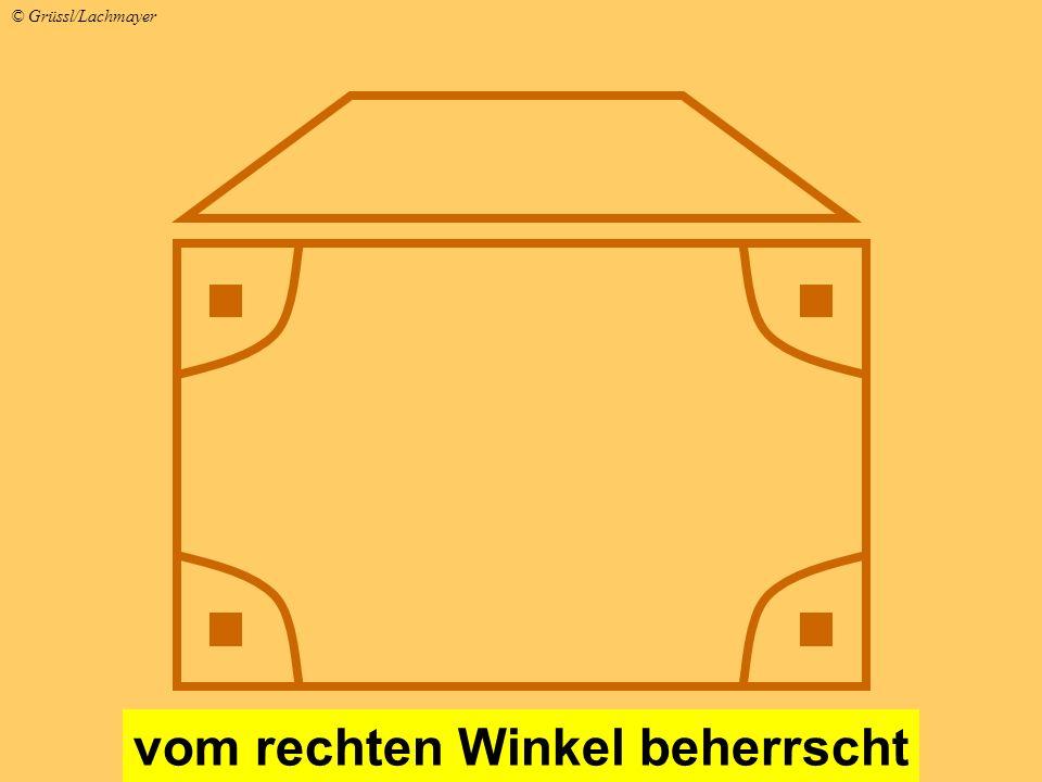 vom rechten Winkel beherrscht © Grüssl/Lachmayer