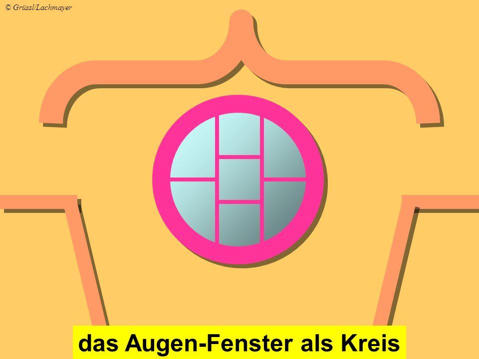 das Augen-Fenster als Kreis © Grüssl/Lachmayer