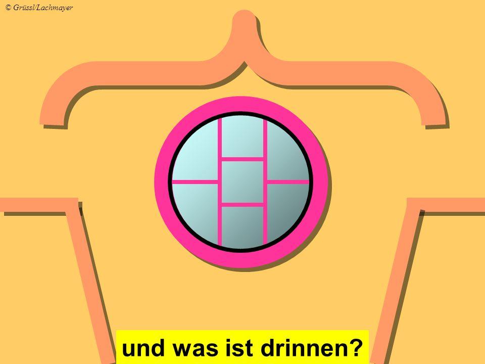 und was ist drinnen? © Grüssl/Lachmayer