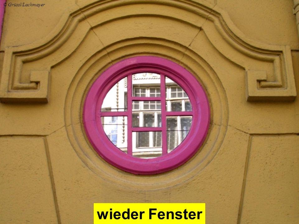 wieder Fenster © Grüssl/Lachmayer
