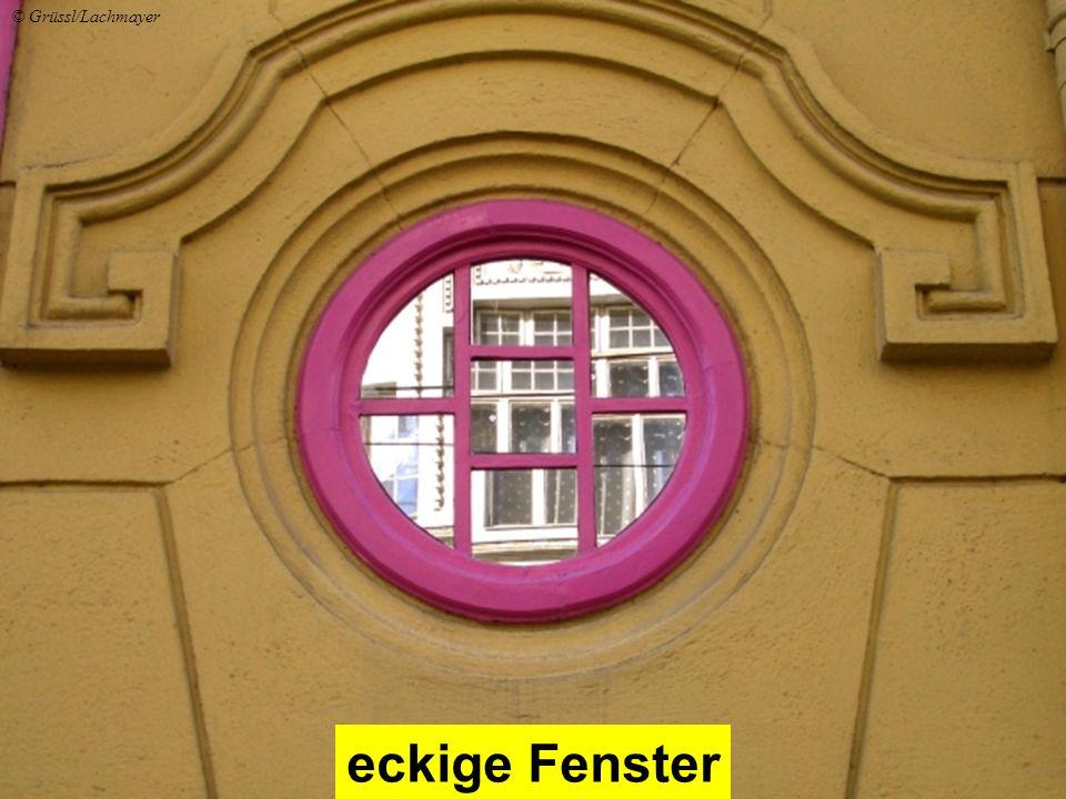 eckige Fenster © Grüssl/Lachmayer