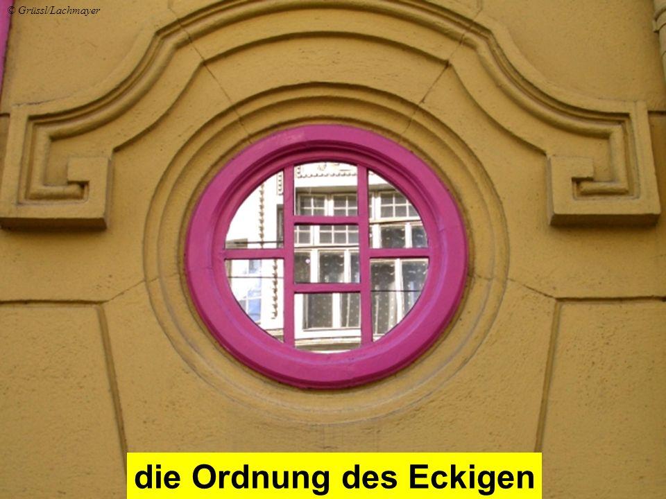 die Ordnung des Eckigen © Grüssl/Lachmayer