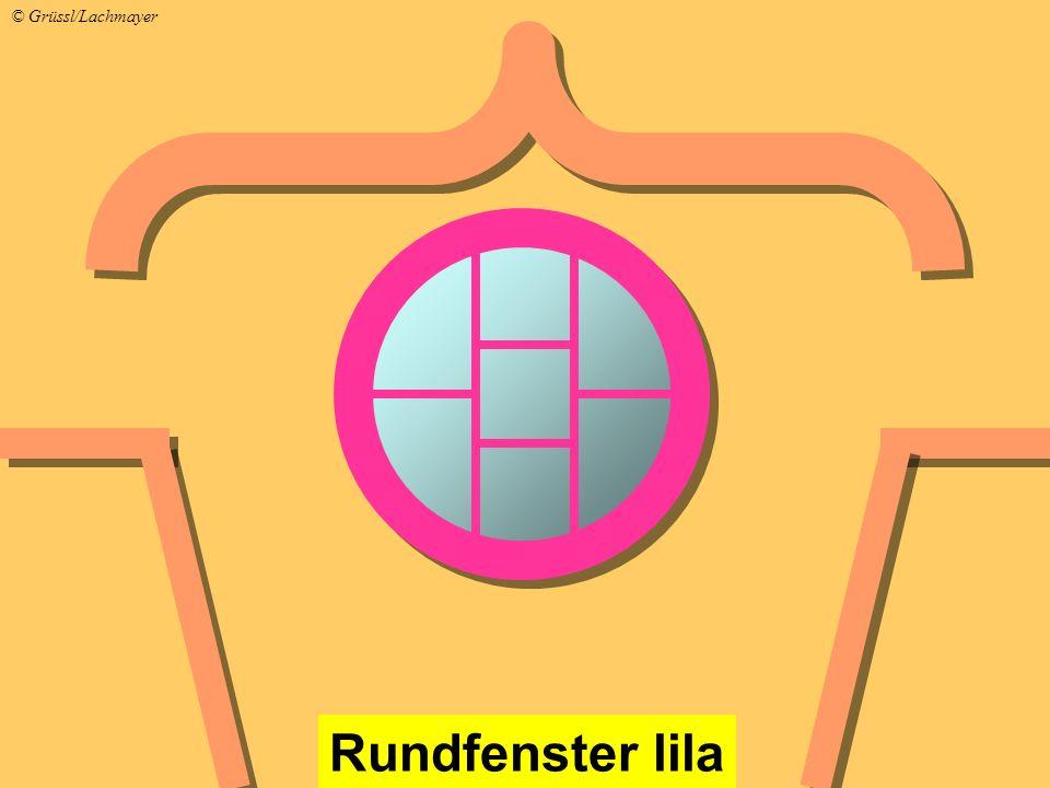 Rundfenster lila © Grüssl/Lachmayer