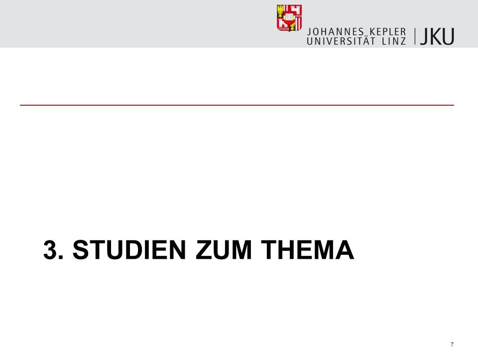 7 3. STUDIEN ZUM THEMA