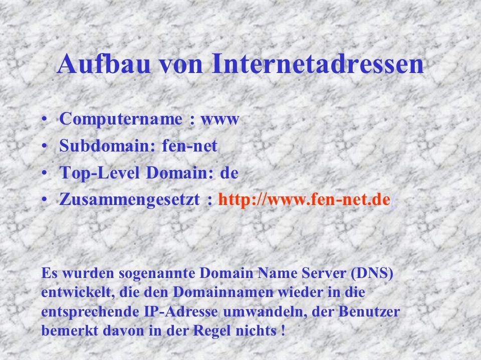TCP / IP TCP: TCP legt fest, wie die Informationen in die Pakete gepackt und über das Internet geschickt werden.