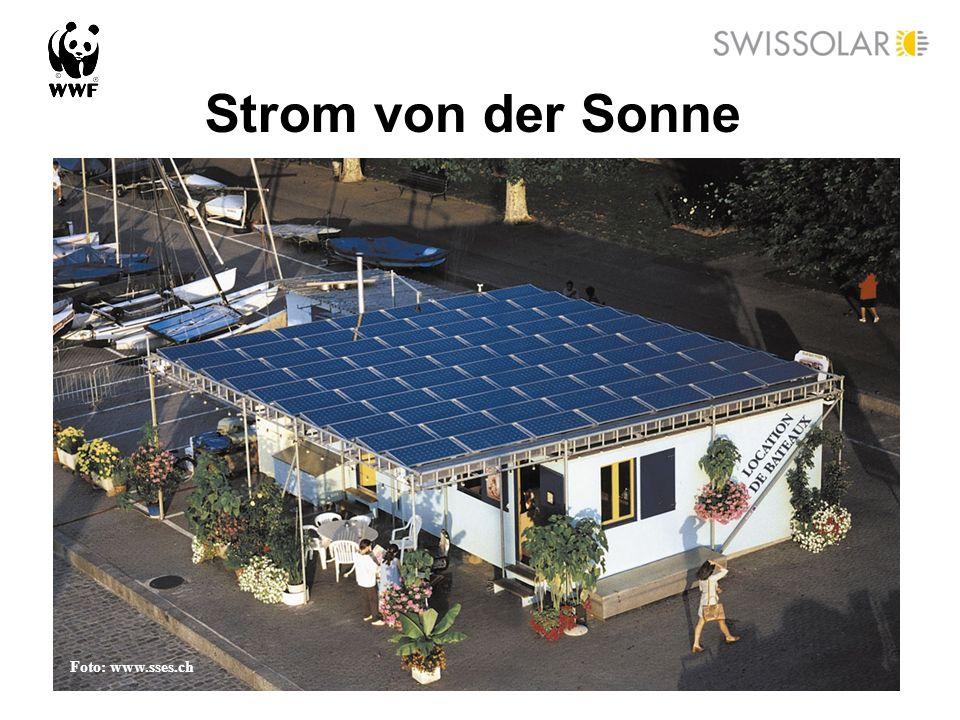 Strom von der Sonne Foto: www.sses.ch