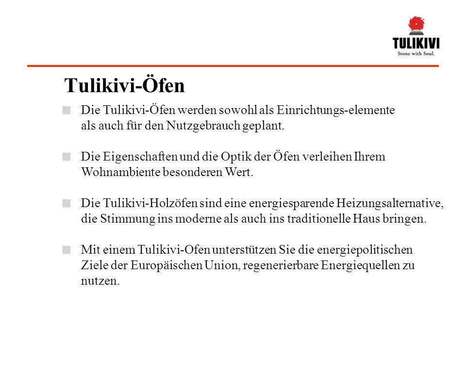 Die Tulikivi-Öfen werden sowohl als Einrichtungs-elemente als auch für den Nutzgebrauch geplant.