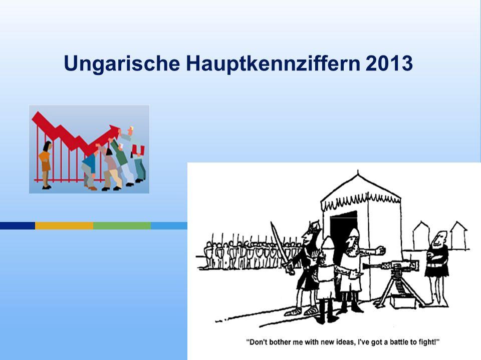 Ungarische Hauptkennziffern 2013