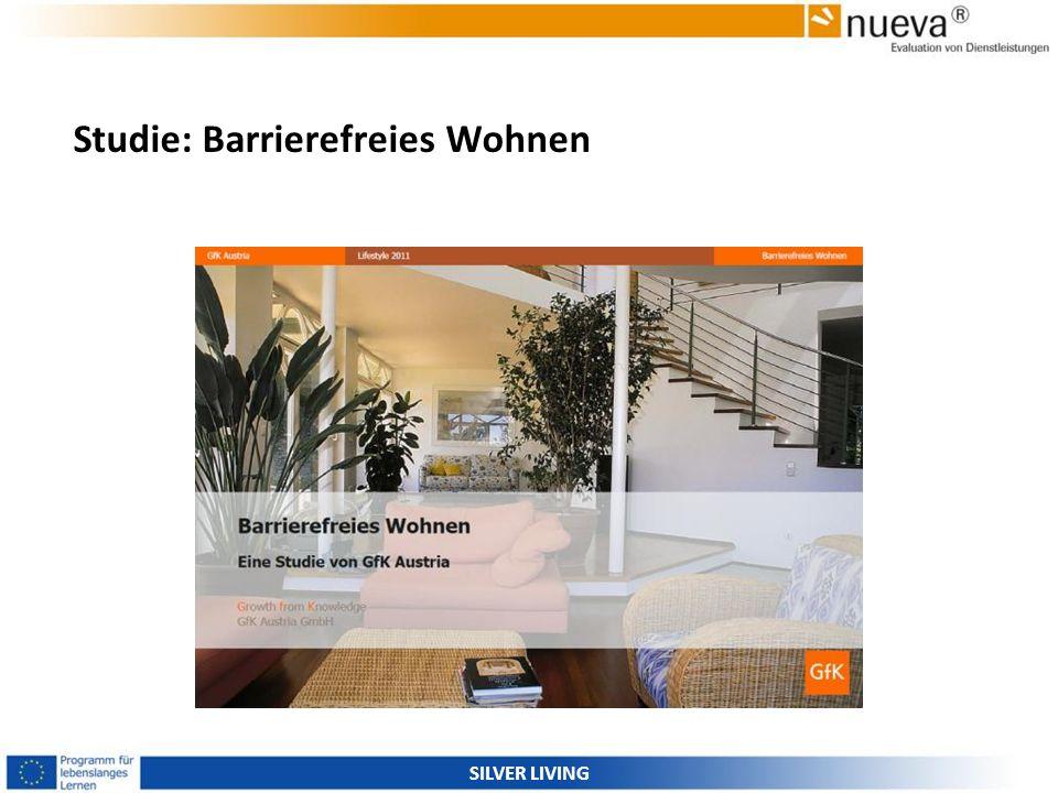 Studie: Barrierefreies Wohnen SILVER LIVING
