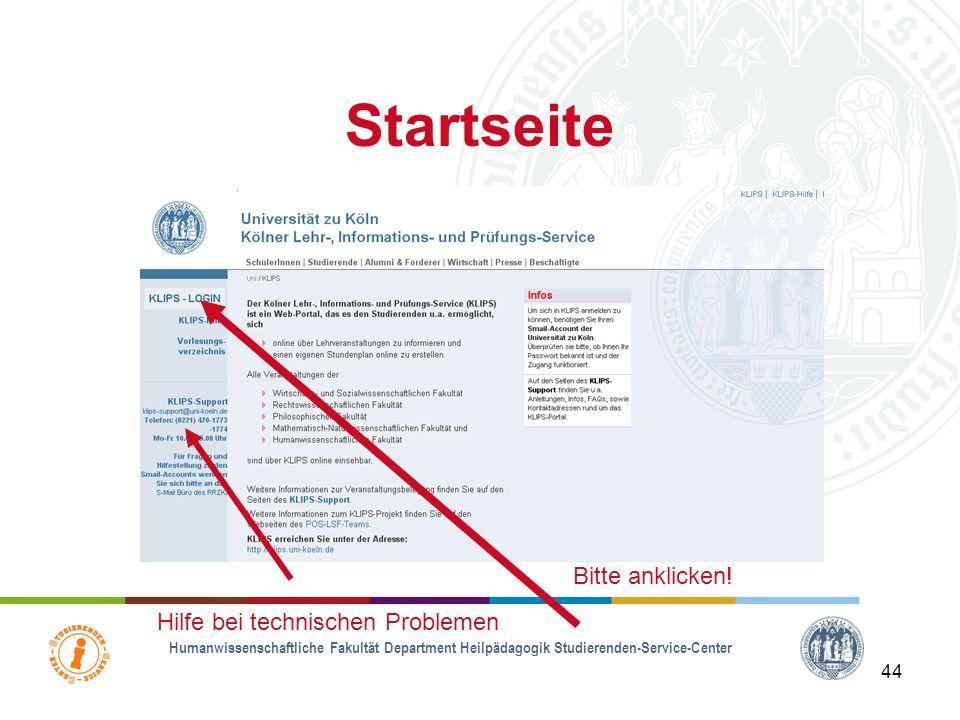 Übersicht 2. KLIPS & Stundenplanerstellung –Anmeldung bei KLIPS (www.klips.uni-koeln.de) –Wichtige Termine und Fristen
