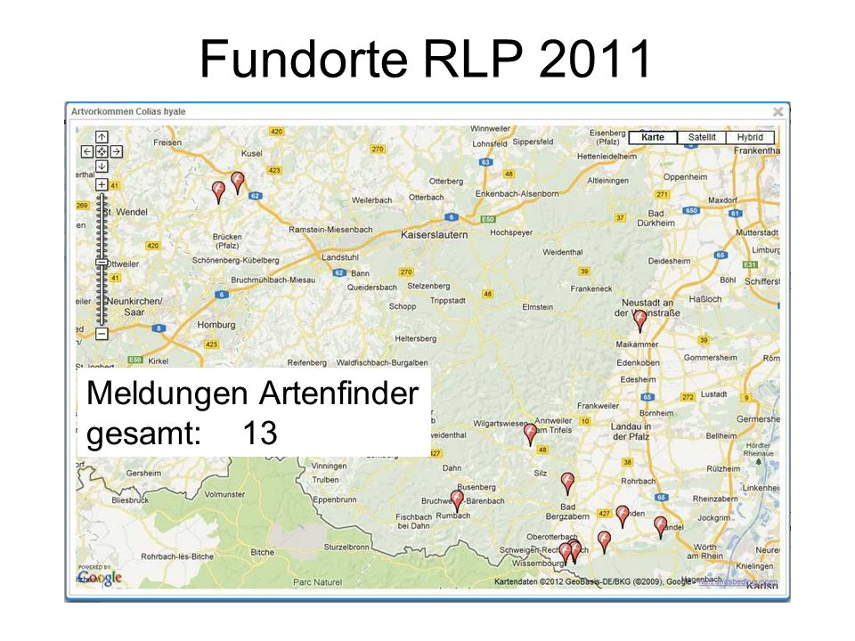 Entwicklung 2012