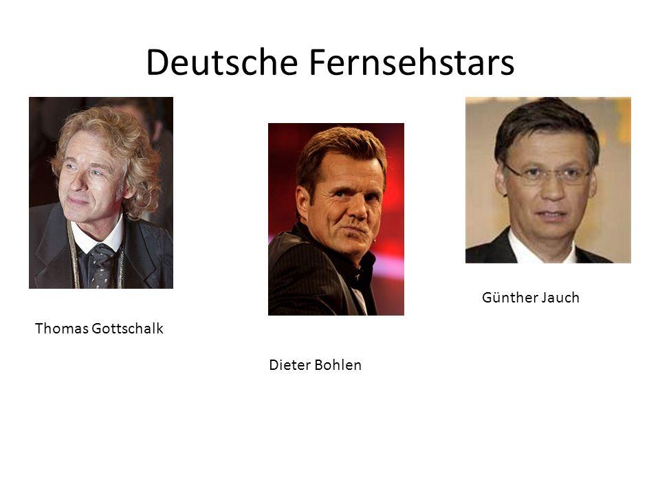 Vokabeln Fernsehsender = television transmitter Sendung = programme Öffentlich= public Kommerziell = commercial