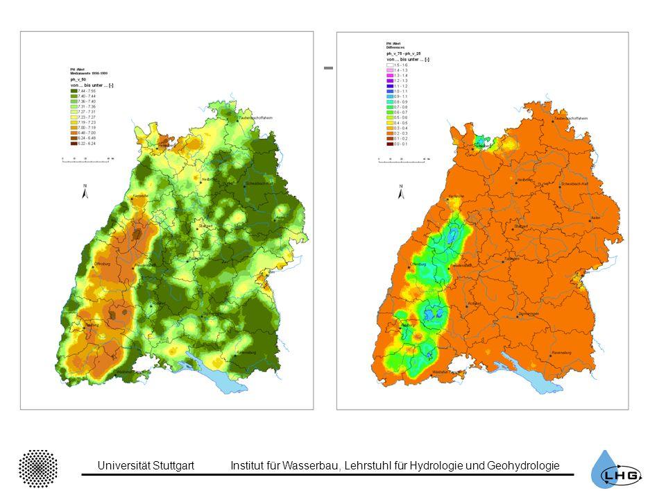 Universität StuttgartInstitut für Wasserbau, Lehrstuhl für Hydrologie und Geohydrologie