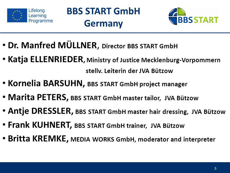 4 Locations and corporate identity of the BBS START GmbH 4 Hamburg Berlin Baltic Sea