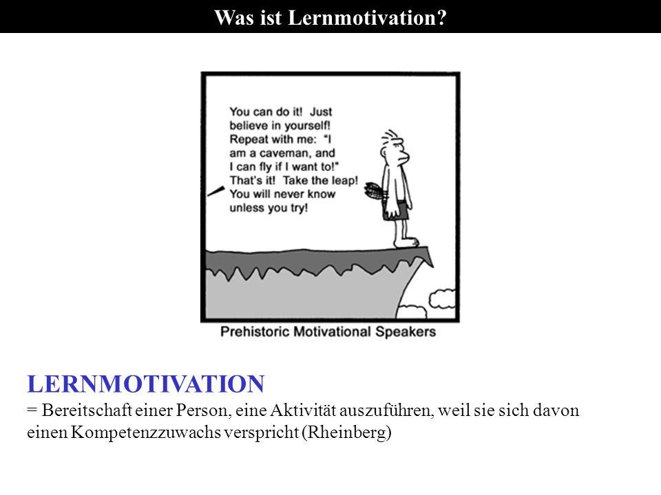 Was ist Lernmotivation.