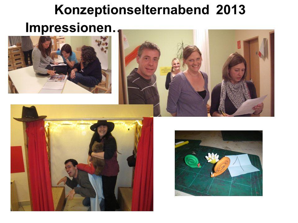 Konzeptionselternabend 2013 Impressionen….