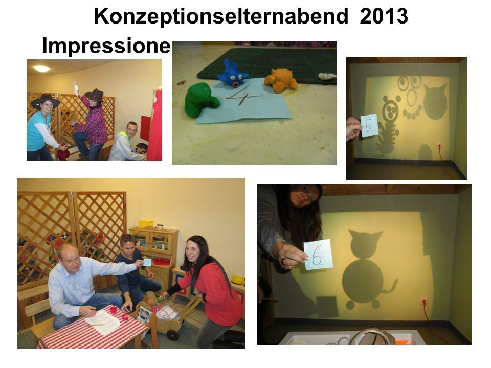 Konzeptionselternabend 2013 Impressionen…