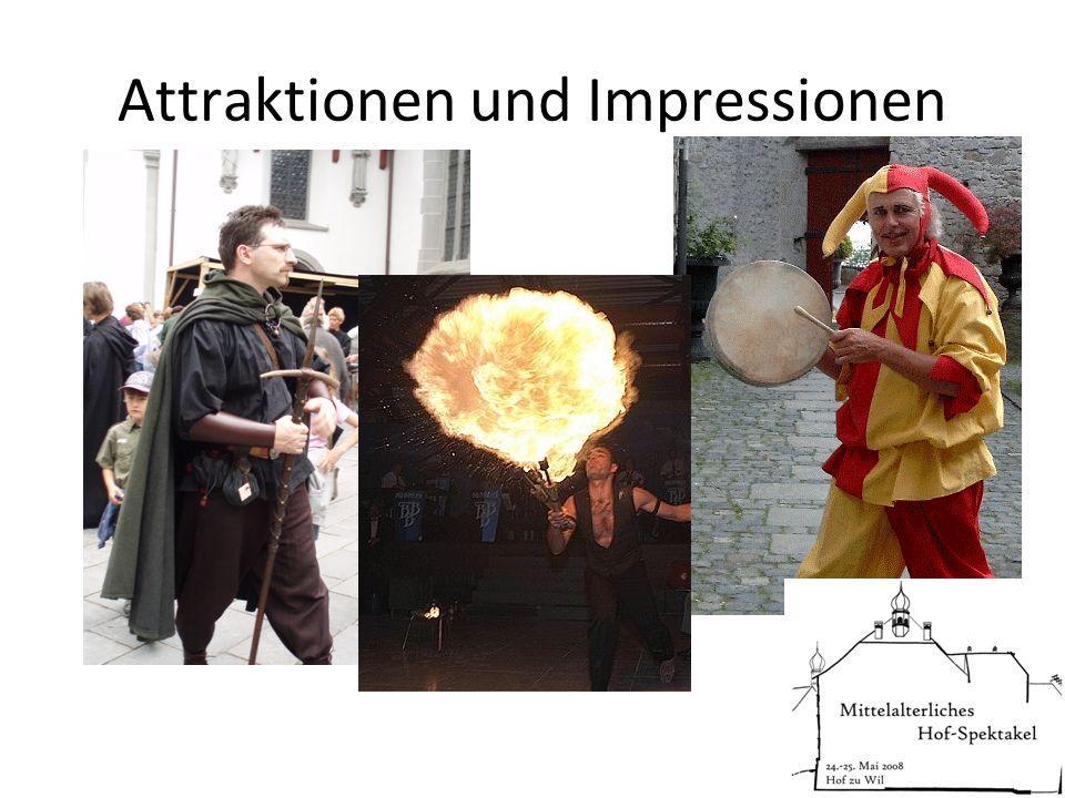 Attraktionen und Impressionen
