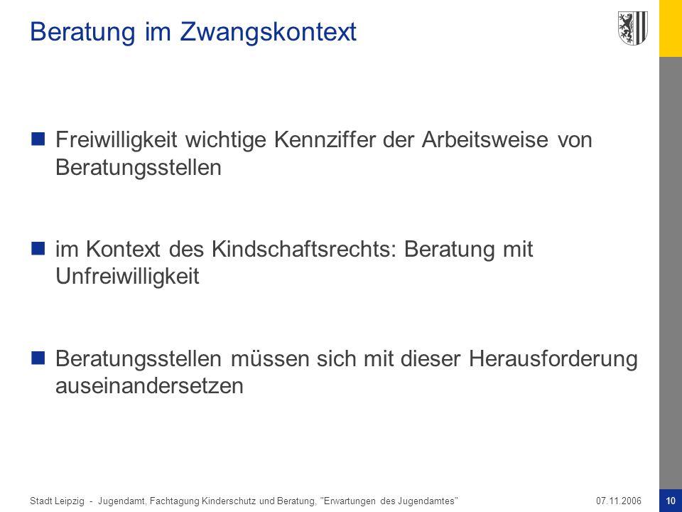 Stadt Leipzig -10Jugendamt, Fachtagung Kinderschutz und Beratung,