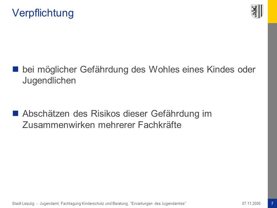 Stadt Leipzig -7Jugendamt, Fachtagung Kinderschutz und Beratung,