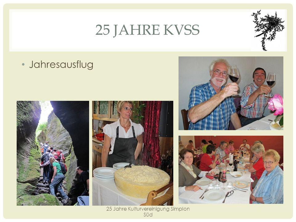25 JAHRE KVSS Anerkennungspreis «Seehornpreis» «Silberdistel» Preisträger: Josef Rittiner, 30.
