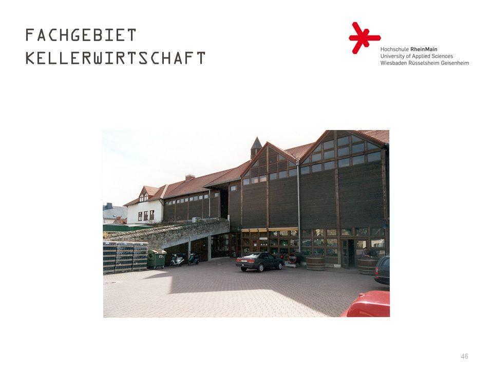 FACHGEBIET KELLERWIRTSCHAFT 46