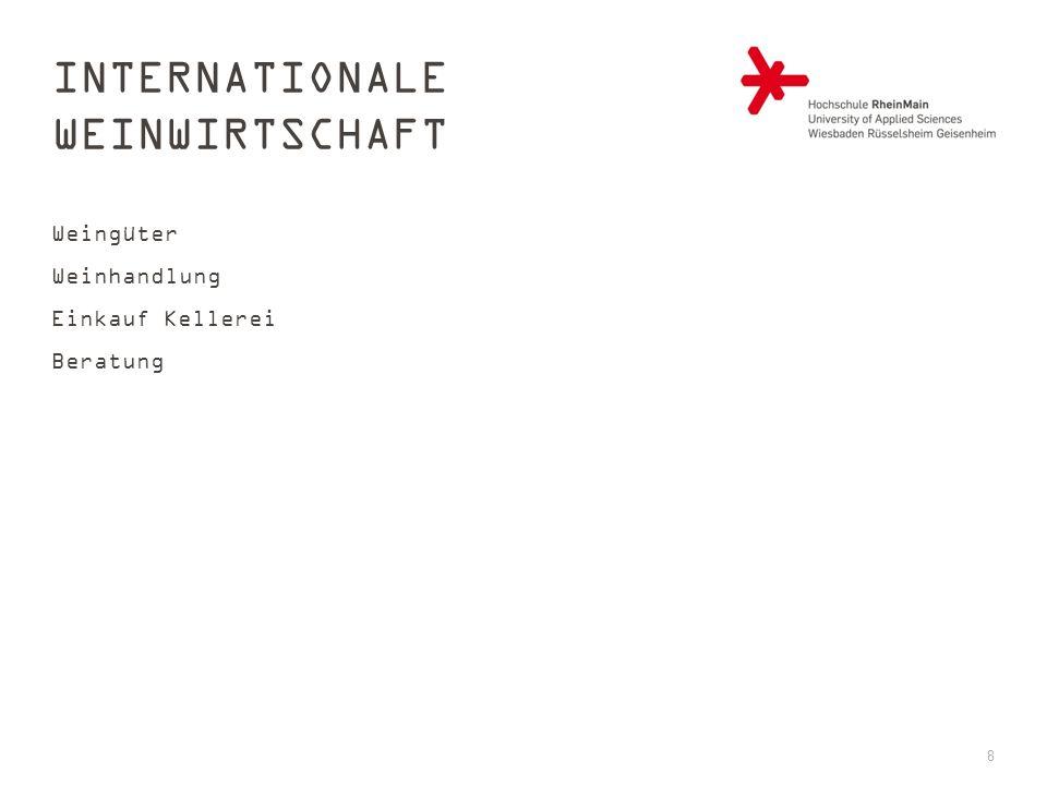 INTERNATIONALE WEINWIRTSCHAFT Weingüter Weinhandlung Einkauf Kellerei Beratung 8