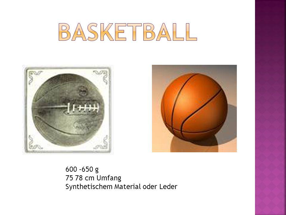 600 -650 g 75 78 cm Umfang Synthetischem Material oder Leder