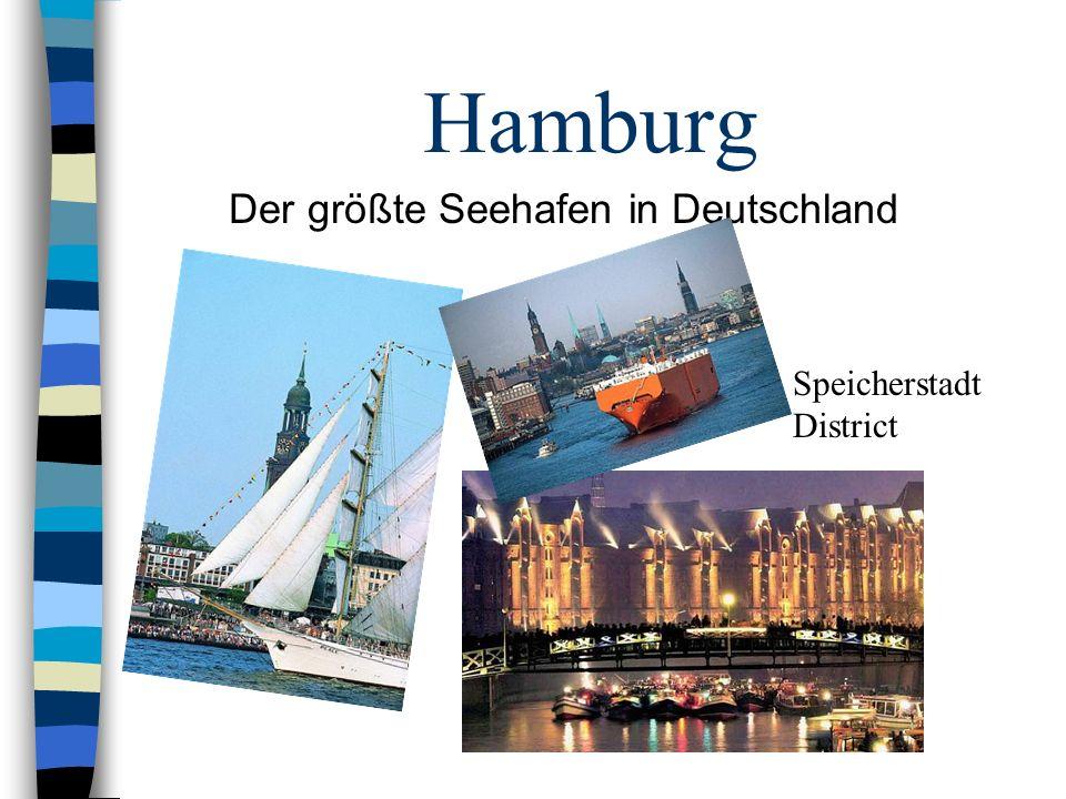 Hamburg Der größte Seehafen in Deutschland Speicherstadt District