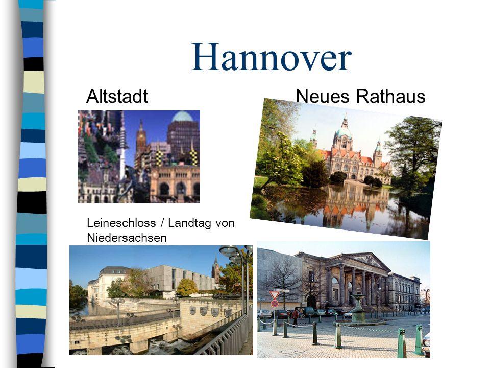 Hannover Altstadt Neues Rathaus Leineschloss / Landtag von Niedersachsen