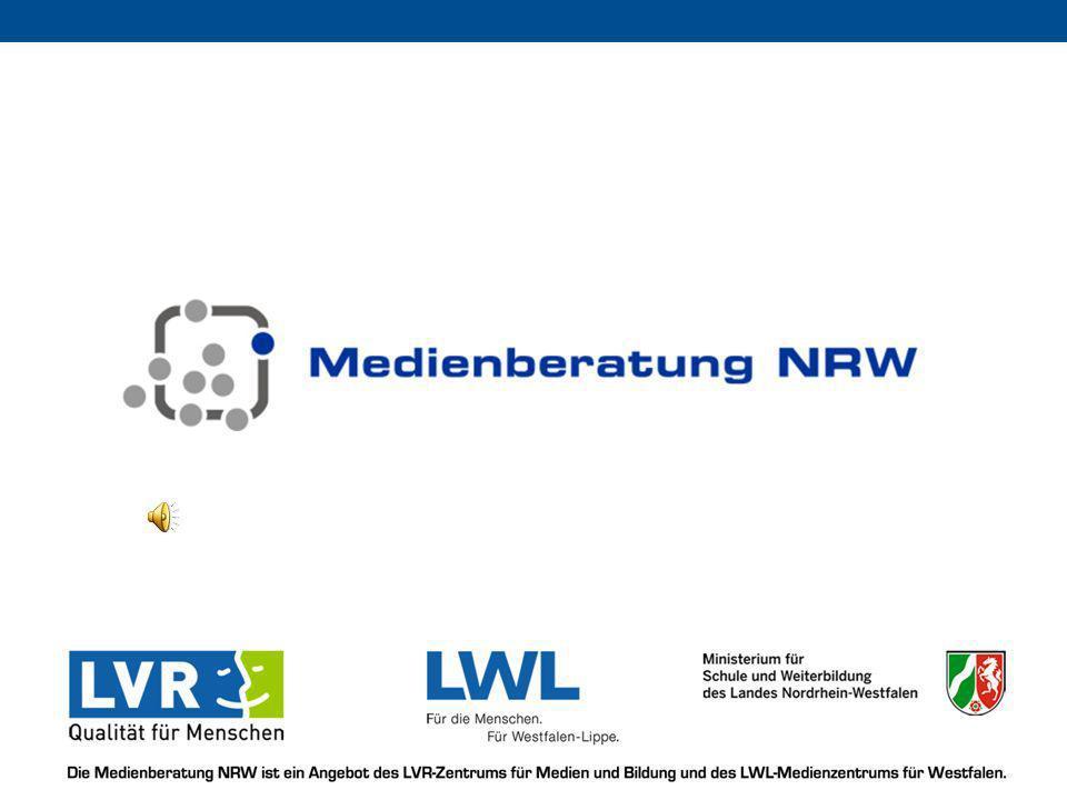 Die Medienberatung NRW ist ein Angebot des LVR-Zentrums für Medien und Bildung und des LWL-Medienzentrums für Westfalen im Auftrag des Ministeriums für Schule und Weiterbildung und der Landschaftsverbände Rheinland und Westfalen-Lippe Lizenzabkommen http://www.vlc-download.de/gplv2.txt