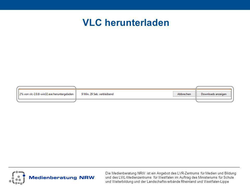 Die Medienberatung NRW ist ein Angebot des LVR-Zentrums für Medien und Bildung und des LWL-Medienzentrums für Westfalen im Auftrag des Ministeriums für Schule und Weiterbildung und der Landschaftsverbände Rheinland und Westfalen-Lippe VLC installieren