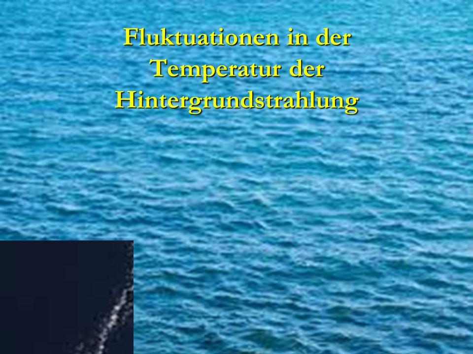 Fluktuationen in der Temperatur der Hintergrundstrahlung