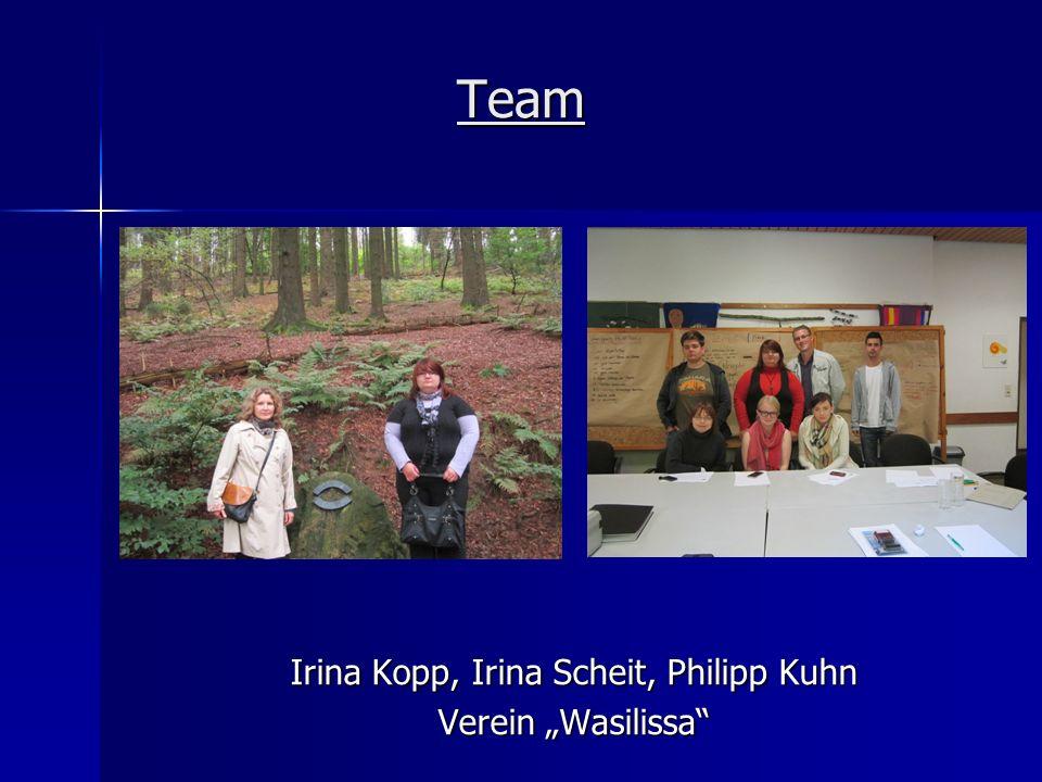 Team Irina Kopp, Irina Scheit, Philipp Kuhn Verein Wasilissa
