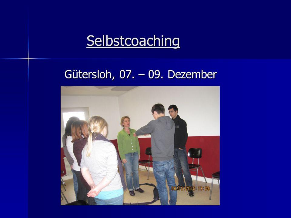 Jugendpolitcamp Gütersloh, 09. Dezember Gütersloh, 09. Dezember