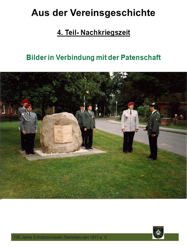 18 100 Jahre Schützenverein Stemmen von 1911 e. V.