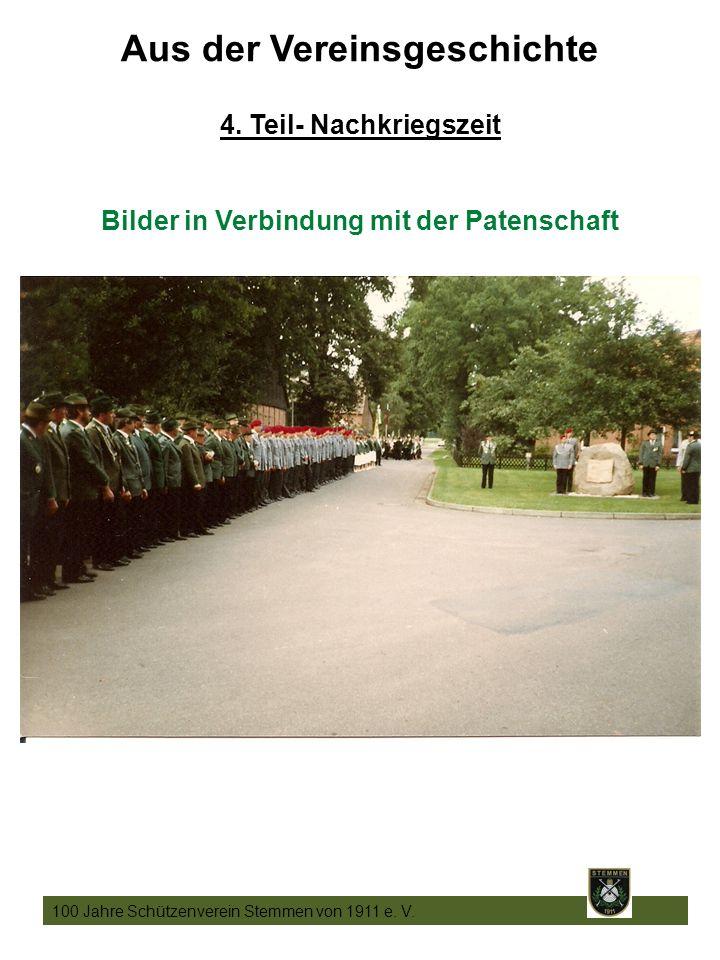 19 100 Jahre Schützenverein Stemmen von 1911 e. V.