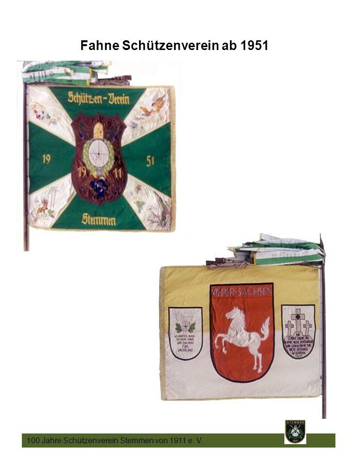3 Fahne Schützenverein ab 1951