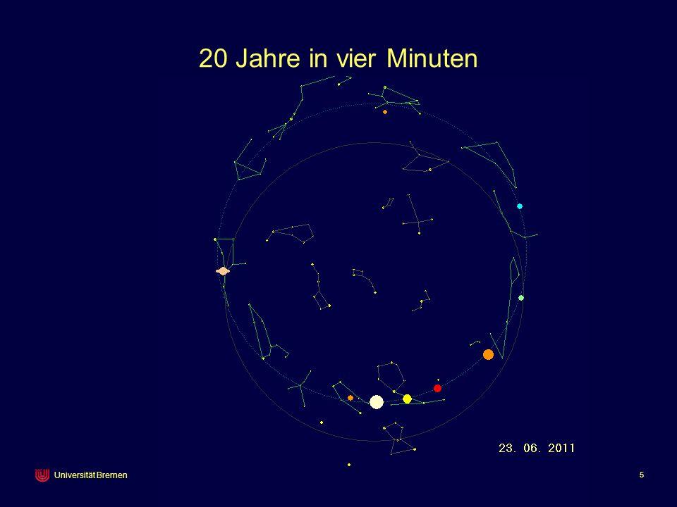 Peter Richter 5 Universität Bremen 20 Jahre in vier Minuten