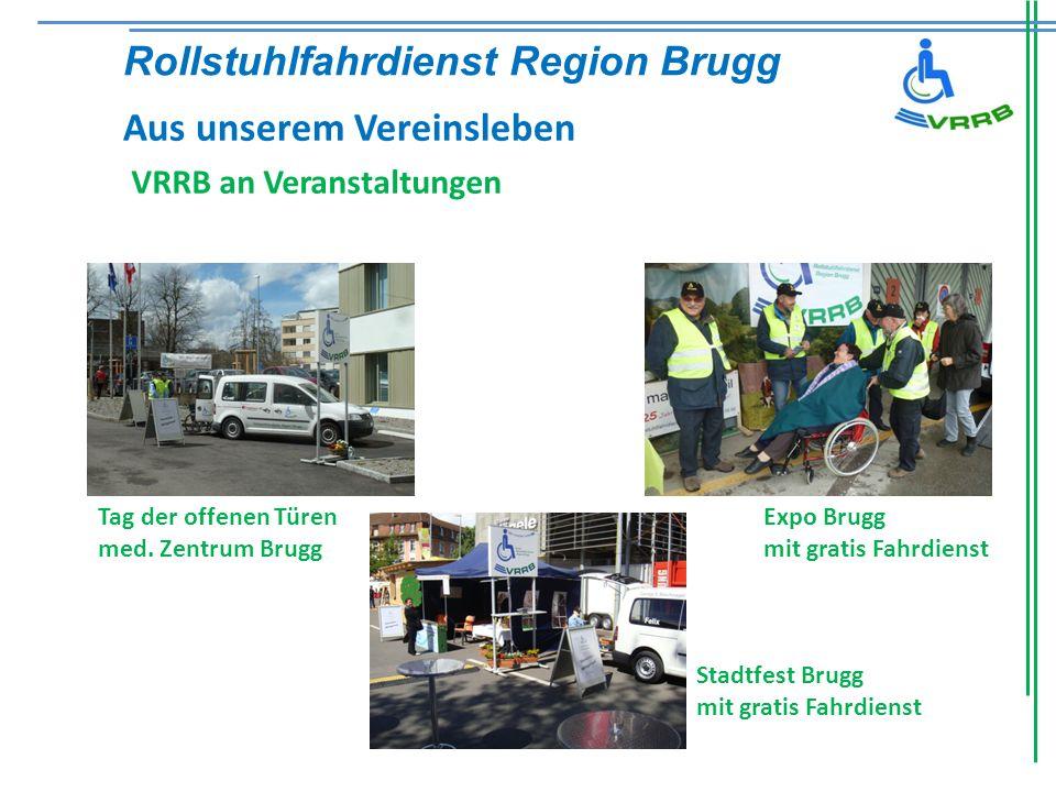 VRRB an Veranstaltungen Tag der offenen Türen med.