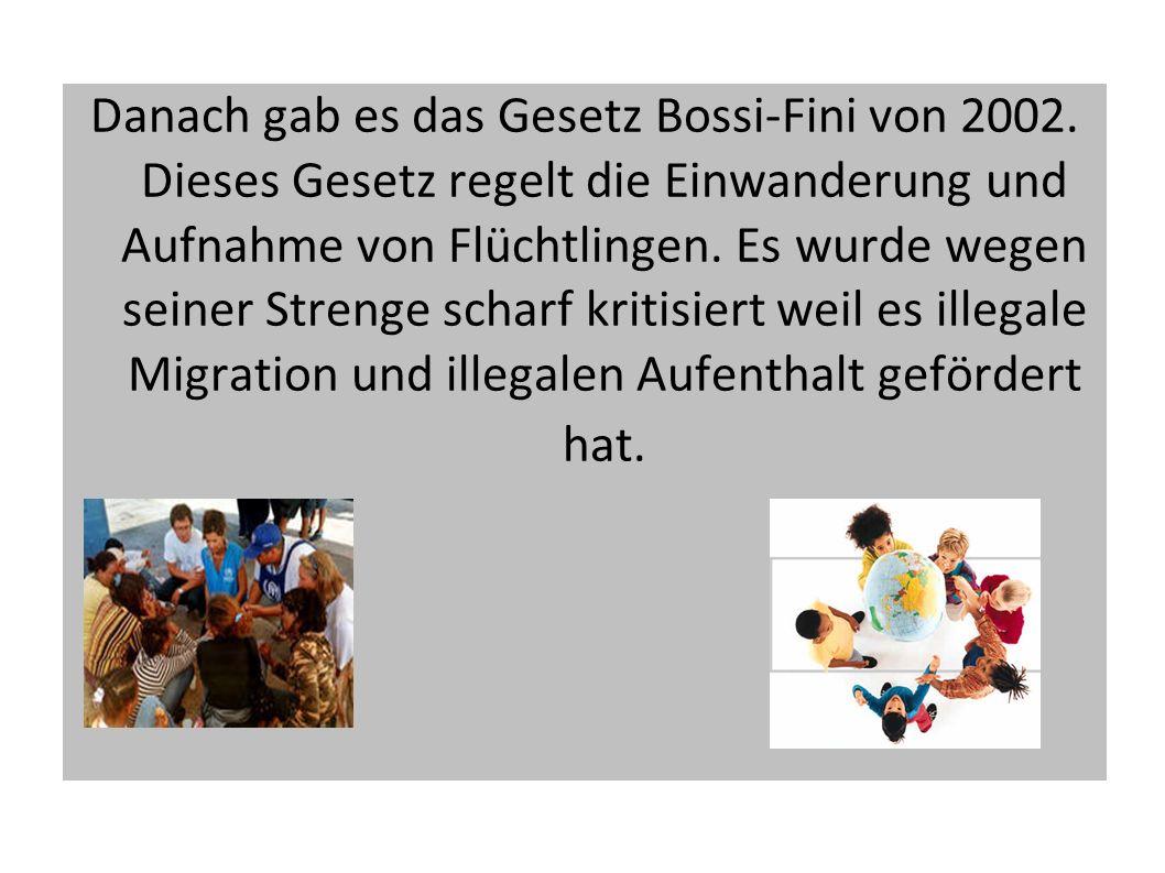 In den letzen Jahren sind aber auch einige wichtige Maßnahmen ergriffen worden um die Integration zu ermöglichen.